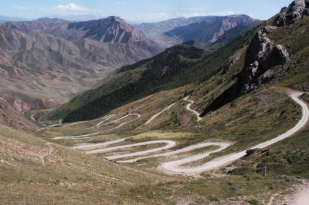 Terskey Torpok Ashuu Pass 3.132 m
